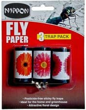 Nippon Fly Papers - Pack 3